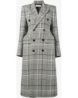 Hourglass Double Breasted Coat