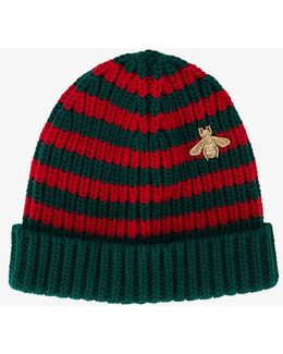 Webbing Knitted Hat