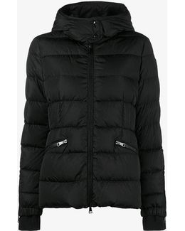 Short Down Filled Hooded Jacket