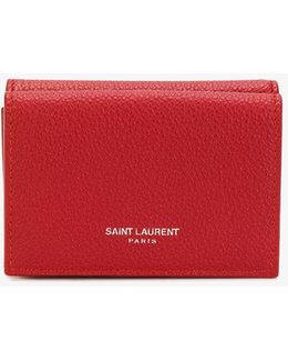 Tiny Grained Leather Wallet