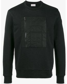 Zip Pocket Chest Sweatshirt