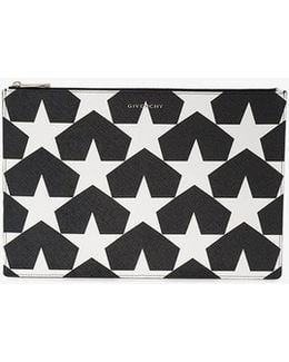 Iconic Pouch With Star Print