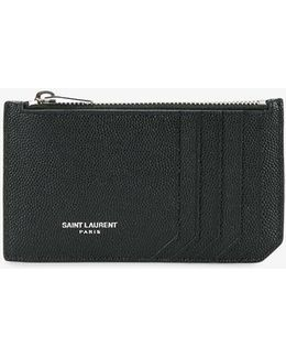 Classic Fragments Zipped Pouch
