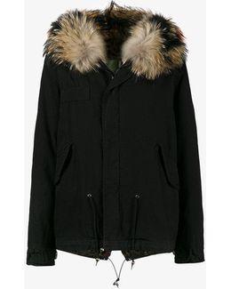 Mini Parka With Fur Hood