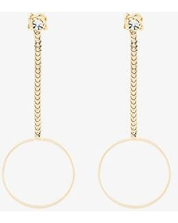 Yandel Drop Chain Earrings