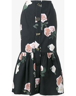 Paula Floral Print Skirt