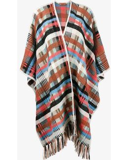 Check Fringed Cape