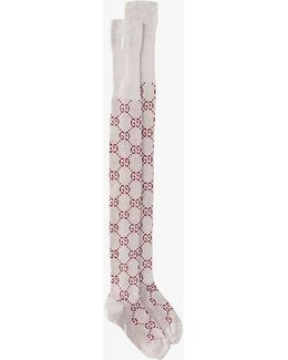 Gg Supreme Intarsia Socks