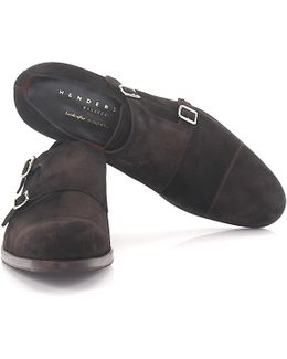 Double-monk 56212 Suede Brown