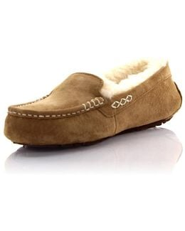 Slippers Ansley Suede Beige