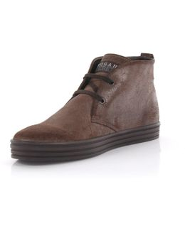 Boots Rebel Suede Brown Finished