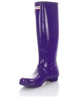 Boots Gum Purple