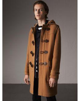 Wool-blend Duffle Coat Camel