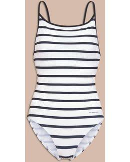 Breton Stripe Swimsuit