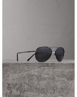 Folding Pilot Sunglasses