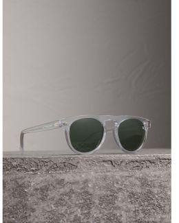 The Keyhole Round Frame Sunglasses
