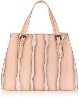 Intrecciato Glimmer Tote Bag