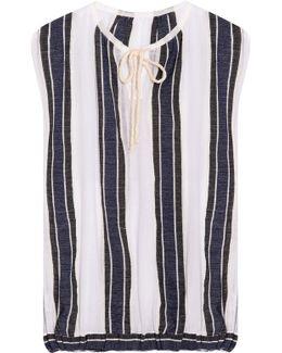 Biftu Striped Blouse