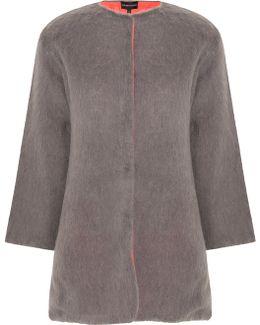 Mohair Reversible Coat