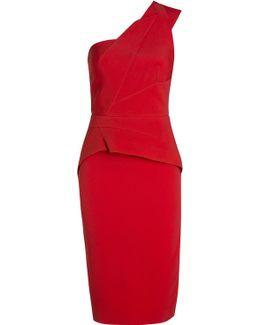 Lyford One Sleeve Cocktail Dress