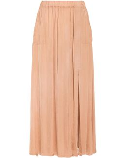 Ribbon Long Skirt