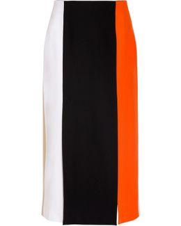 Tricolour Panel Skirt