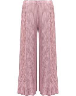 Thicker Bottom Wide Leg Pants