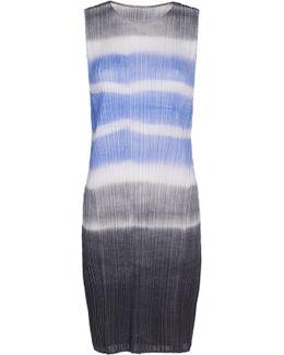 Watery Stripe Knee Length Tunic