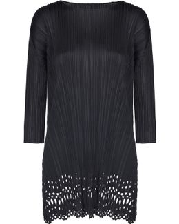 Sheer Lace Midi Laser Top