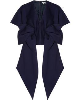 Neoprene Short Sleeve Bow Top