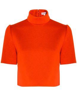 Neoprene Short Sleeve Top