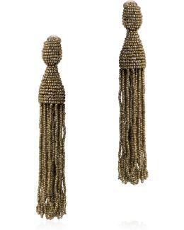 Classic Long Tassel Earrings