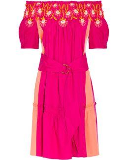Panelled Cotton Dress