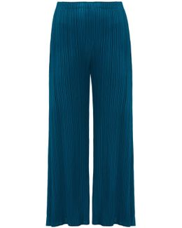 Side-split Pants