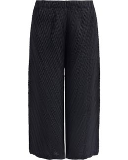 Thicker Bounce Wide Leg Pants