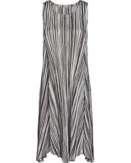 Liquid Stripes Knee Length Tunic