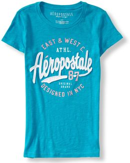 Aero East & West Graphic T