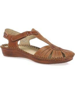 Vanity Womens Casual Velcro Fastening Sandals