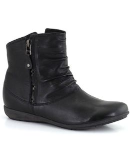 Faye 05 Ruche Womens Casual Boots