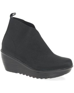 Maile Womens Casual Ankle Boots