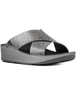 Crystall Slide Womens Sandals