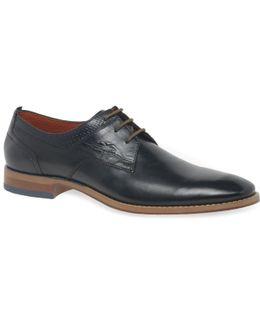 Lattice Mens Formal Lace Up Shoes