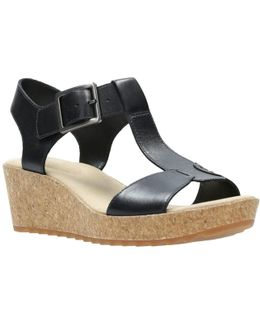 Kamara Kiki Wedge Heeled Sandals