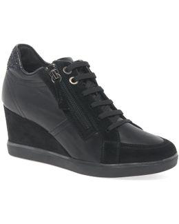 Eleni Womens High Heel Casual Shoes