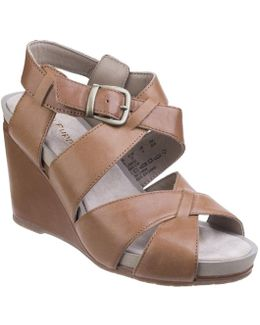 Fintan Montie Womens Wedge Heel Sandals