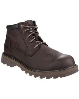 Double Day Mens Lace Up Boots