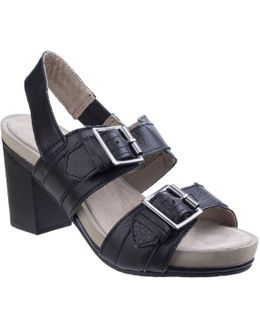 Leonie Mariska Womens Block Heel Sandals