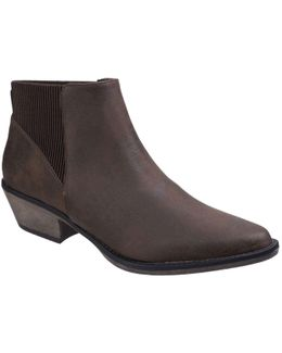 Alarm Womens Casual Ankle Boots