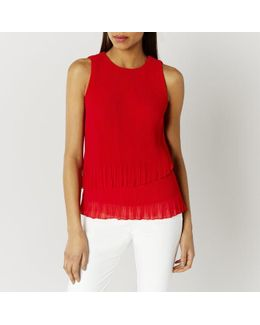 Rhiona Pleated Top