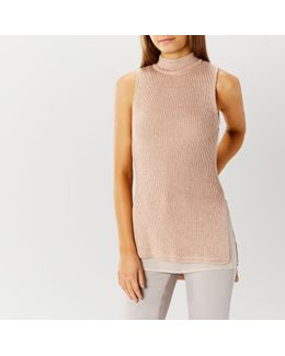 Rosa Sleeveless Knit Top